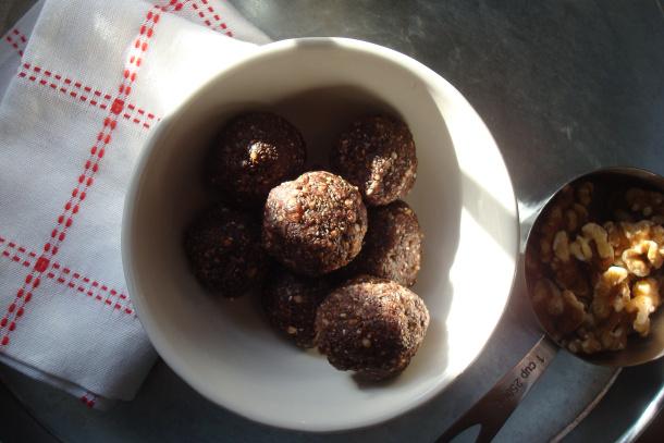 sugar free, gluten free chocolate truffles