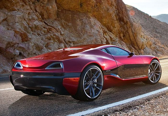 2012 Rimac Concept_One; top car design rating and specifications